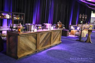 chateau themed bar