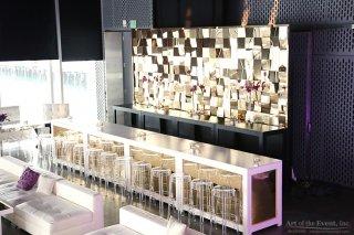 gold flex themed bar