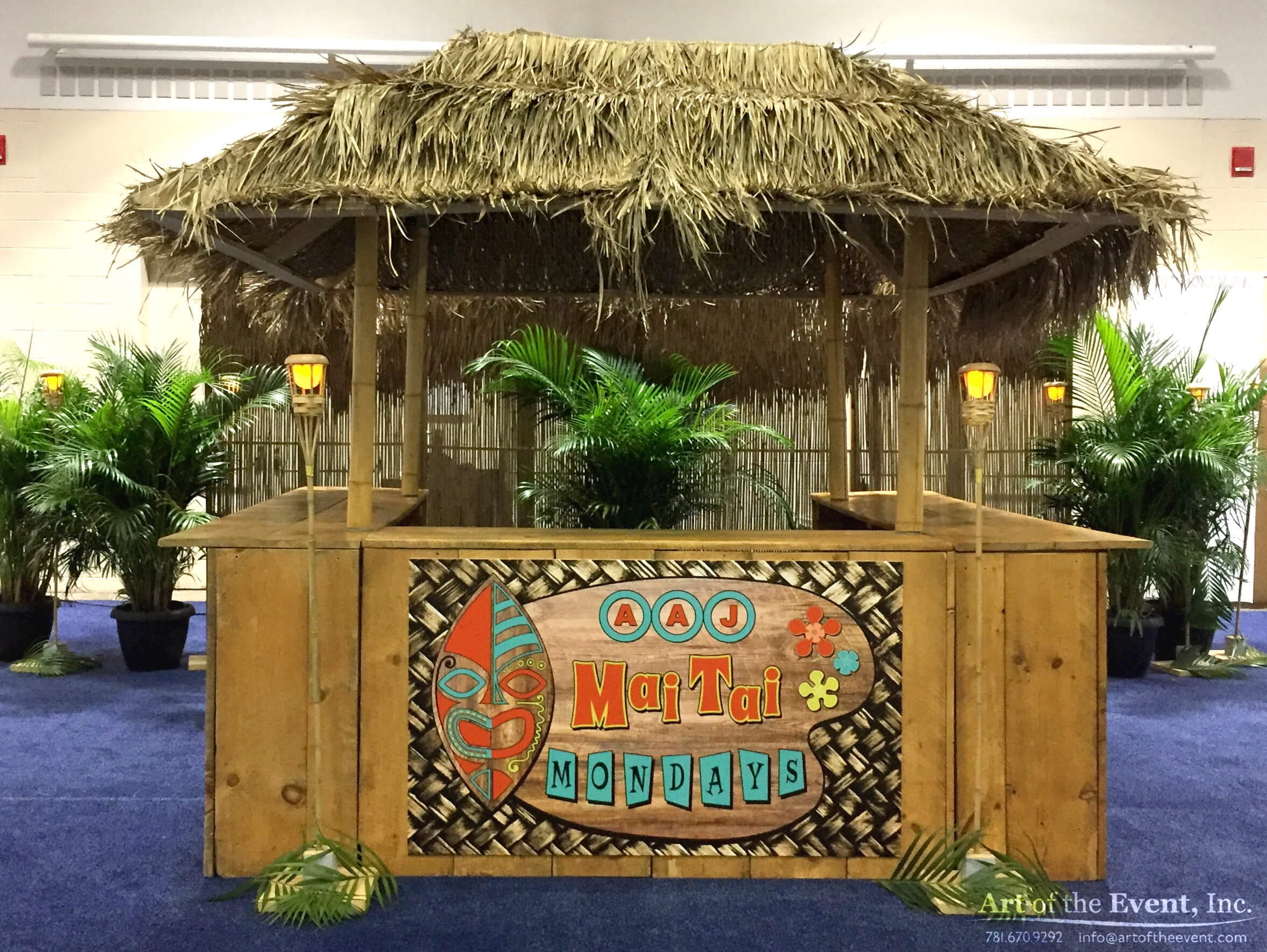 tiki inspired bar